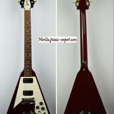 VENDUE... GIBSON Flying V 67' Cherry 1994 '100th' USA import USA Import *OCCASION*