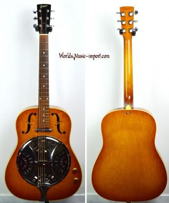 VENDUE... GRECO Resonator Dobro D-80PER 1992 Electro' TeaBurst Japan Import Japon*OCCASION*