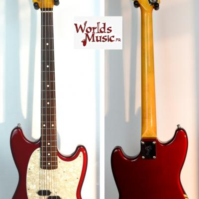 VENDUE... FENDER Mustang Bass MB'98-CO OCR 2005