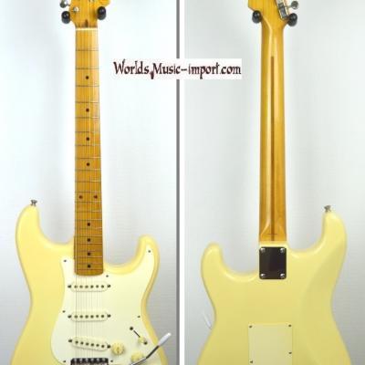 VENDUE... FENDER Stratocaster '57-US YWHITE 1993 Japon import  *OCCASION*