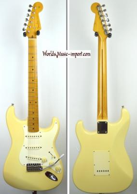 VENDUE... FENDER Stratocaster '57-US YWHITE 1993 Japon import  *OCCASION*