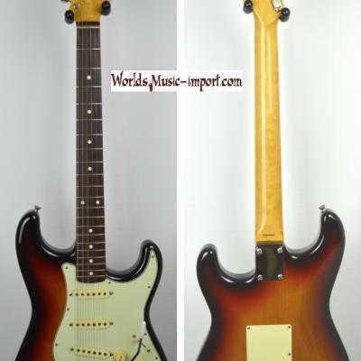 VENDUE... FENDER Stratocaster '62-TX US Sunburst 1998 Japon import  *OCCASION*