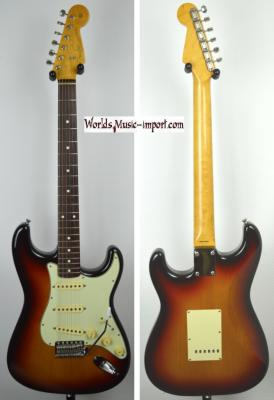 VENDUE... FENDER Stratocaster '62-TX US Sunburst 1998 Japon import  *OCCASION*