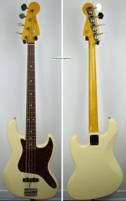 VENDUE... FENDER Jazz Bass '62 RI VWHITE 2006 Japon import *OCCASION*