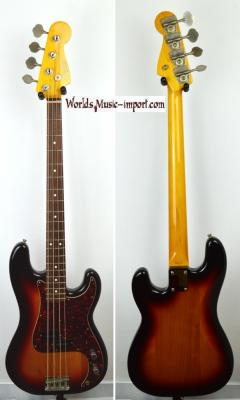 VENDUE.. FENDER Precision Bass PB'62-US 3TS 2003 Japon Import *OCCASION*