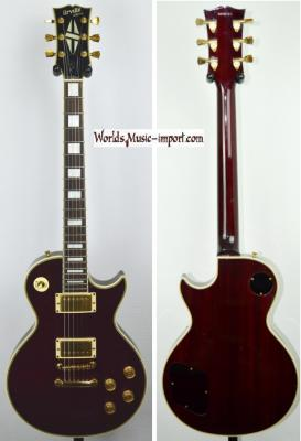 VENDUE... Orville by GIBSON Les Paul Custom Wine Red