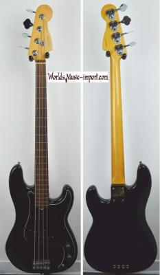 VENDUE... FENDER Precision Bass American Standard FL Black 1995 'Fretless' USA *OCCASION*
