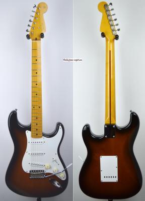 VENDUE... FENDER Stratocaster 57' RI 2TS 2004 japon import *OCCASION*