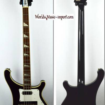 VENDUE... GRECO Bass RB-850 Black 1990 type Rickenbacker 4003 Japon import *OCCASION*