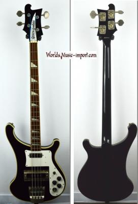 VENDUE... GRECO Bass RB-850 Black 1990 type Rickenbacker 4003 Japon import *OCCASION*