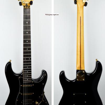 VENDUE... FENDER Stratocaster STR-70 Ex-trem Floyd Black 'RARE' 1988 japon *OCCASION*