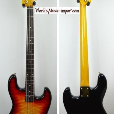 VENDUE... FENDER Jazz Bass JB'62G-105 US VCS 2002 RARE  'Hors Catalogue' japon  *OCCASION*