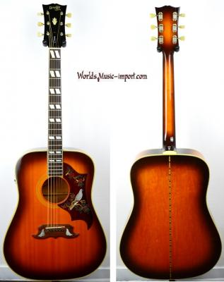 VENDUE... Orville by GIBSON Folk DOVE 1991 VSB japon import  *OCCASION*
