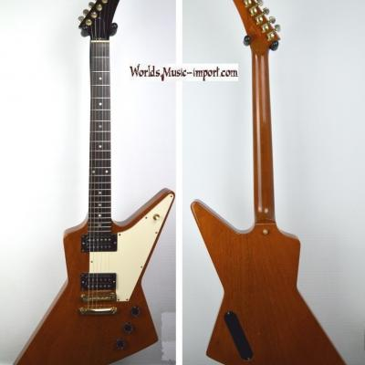 VENDUE... GIBSON Explorer 76' 2001 'Limited Edition' Antique Natural USA import *OCCASION*