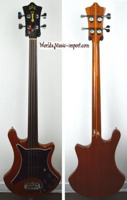 VENDUE.. GUILD Bass Fretless B-302 F Natural gloss 1980 *OCCASION*