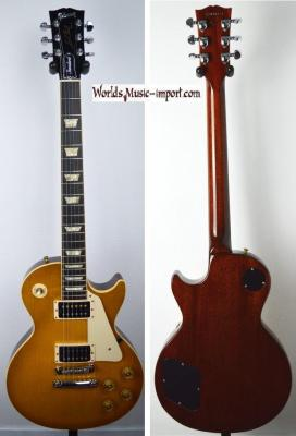 VENDUE... GIBSON Les Paul Standard AA 1998 HoneyBurst US Import *OCCASION*