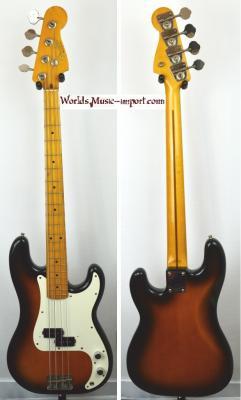 VENDUE... FENDER Precision Bass '57-US 2TS 1993 Japon import *OCCASION*
