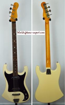 VENDUE... EKO Kadett White 1960's Bass Italie*OCCASION*