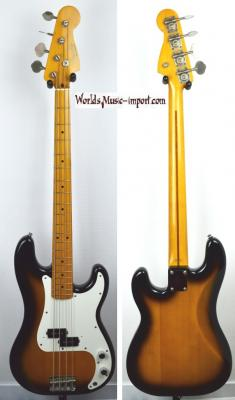 VENDUE... FENDER Precision Bass 57' RI 1993 2TS Japon import *OCCASION*