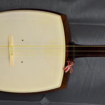 VENDU... SHAMISEN Traditional Japan 3 cordes Bois 96 cm import japan *OCCASION*