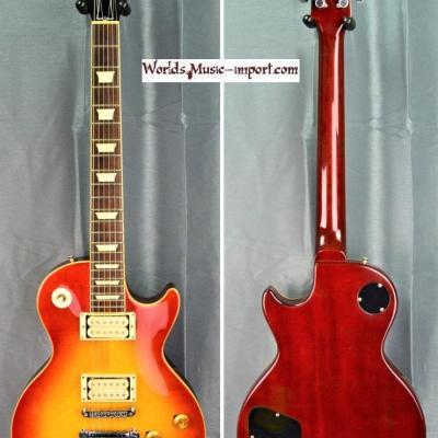 Fernandes Les Paul Standard LG60CS 1978 Cherry Sunburst 'stone series' Japan import *OCCASION*
