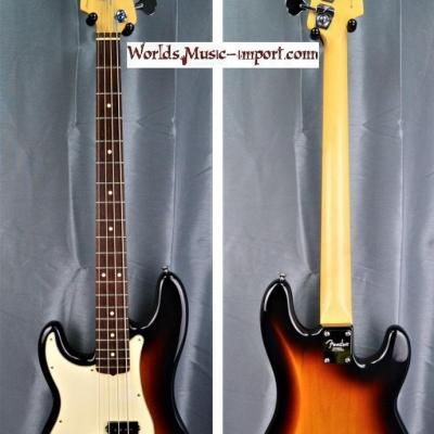 FENDER Precision Bass American Standard LH 3CS 2005 'gaucher' USA import *OCCASION*