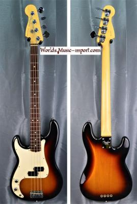 FENDER Precision Bass American Standard LH 3CS 2005 'gaucher' USA import *OCCASION*