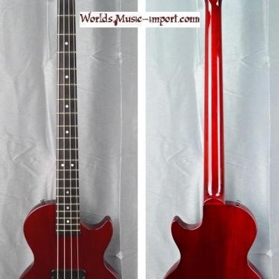 GIBSON Les Paul Bass Standard LPB-3 1998 Wine red 'touche EBENE' US Import *OCCASION*