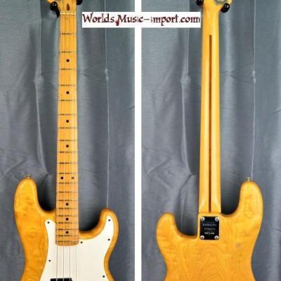 VENDUE... ARIA Pro II Primary Bass PB'600 ASH Luxuary 1979 Natural gloss 'RARE' japan import *OCCASION*