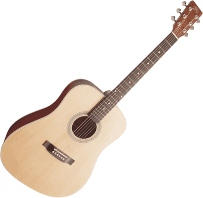 guitare acoustique SX Dreadnought Natural Satin *NEUF*