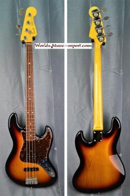 FENDER Jazz Bass JB'62-US 3TS 2008 'nitro' japon import *OCCASION*