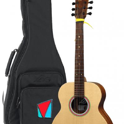 guitare LAG signature VIANNEY  Travel Electro + housse *NEUF*