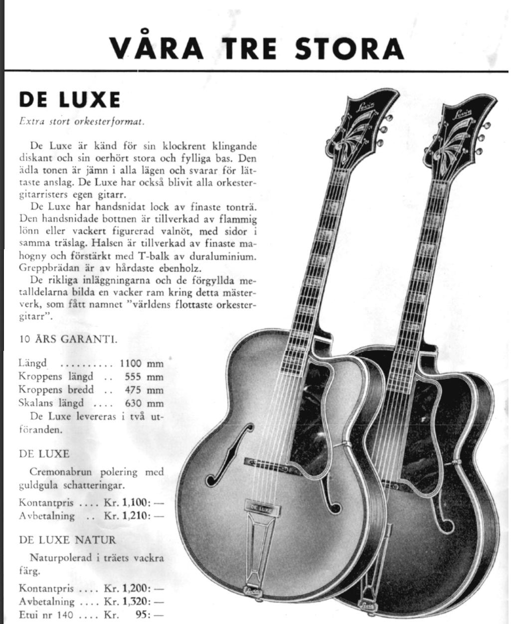 Levin catalog 1949