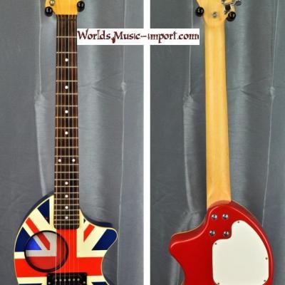 Fernandes Mini-guitare ZO-3 drapeau ANGLAIS 'rare' import japon  *OCCASION*