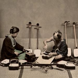 Photo fabrication shamisen