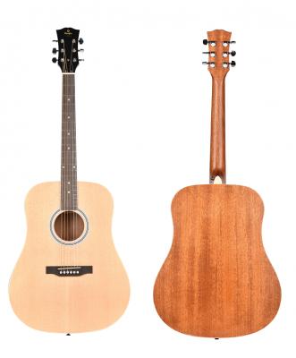 PRODIPE Guitare SD-25 dreadgnouht naturelle *NEUF*