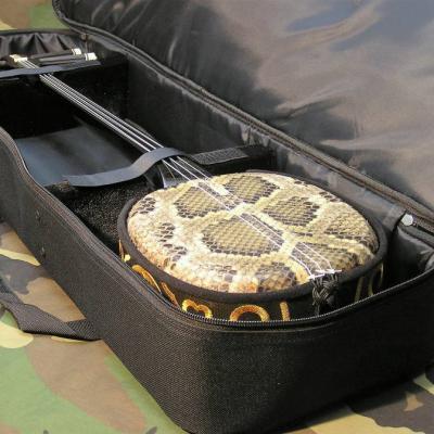 VENDUE... SHAMISEN Peau de Serpent Instrument Traditionnel Japon *NEUF*