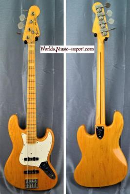 Fender Jazz Bass JB'75-75 'Nitro' ASH Natural 1992 japon import *OCCASION*