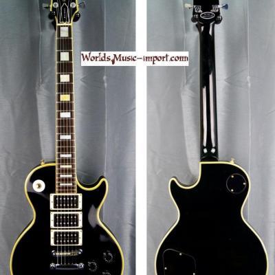 GRECO Les Paul Custom Black EGC600C HHH Peter Frampton 1977 japan import *OCCASION*