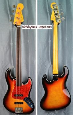 VENDUE... FENDER Jazz Bass JB'62 FL 1989 'RARE' 3TS