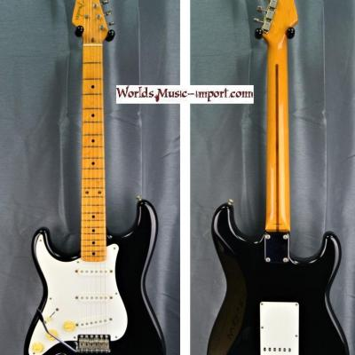 VENDUE... FENDER Stratocaster ST'57-LH Black 1999 Gaucher japon *OCCASION*