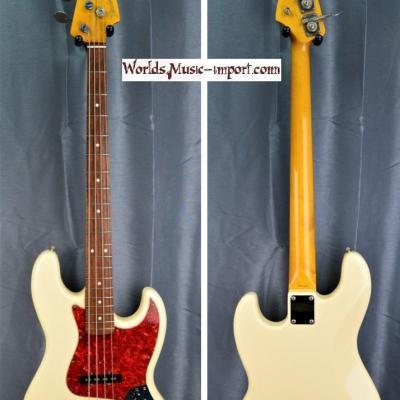 VENDUE... FENDER Jazz Bass JB'62-US WHITE 2000 Japon Import *OCCASION*