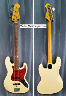 VENDUE... FENDER Jazz Bass JB'62 OWHITE 2006 Japon Import *OCCASION*