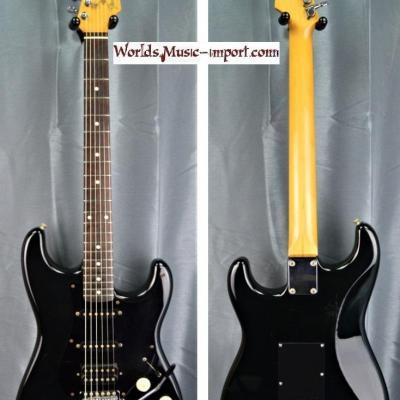 VENDUE... FENDER Stratocaster Standard HSS 1987 ST-456 black japon import *OCCCASION*