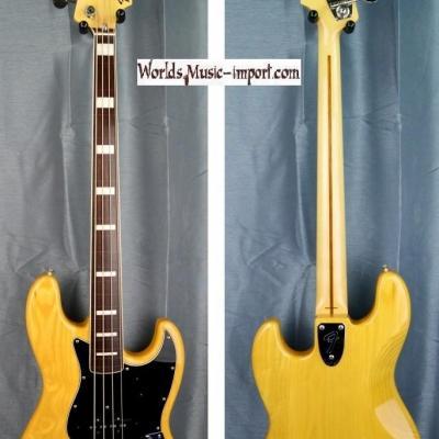 Fender Jazz Bass JB'75 FL ASH/NAT/R 2008 Natural gloss ' Fretless RARE ' japan import *OCCASION*