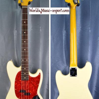 VENDUE... FENDER Mustang Bass MB98' SD VWH 1999 japon import 'RARE 1ère réédition' Japon import *OCCASION*