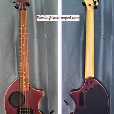 FERNANDES Mini-guitare ZO-3 Vibrato Violet 2004 import japan *OCCASION*