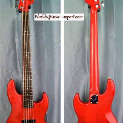 FENDER Jazz Bass JBV-95 1987 Trans Red MH 5 cordes - RARE - japan import *OCCASION*