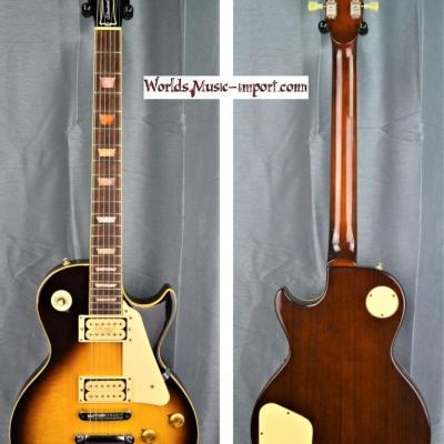 VENDUE... ARIA PRO II Les Paul Standard LS-600 1980 Vinstage Sunburst japan import *OCCASION*