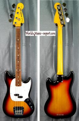 FENDER Mustang Bass MB'98 SD 3TS 2011 japon import  *OCCASION*